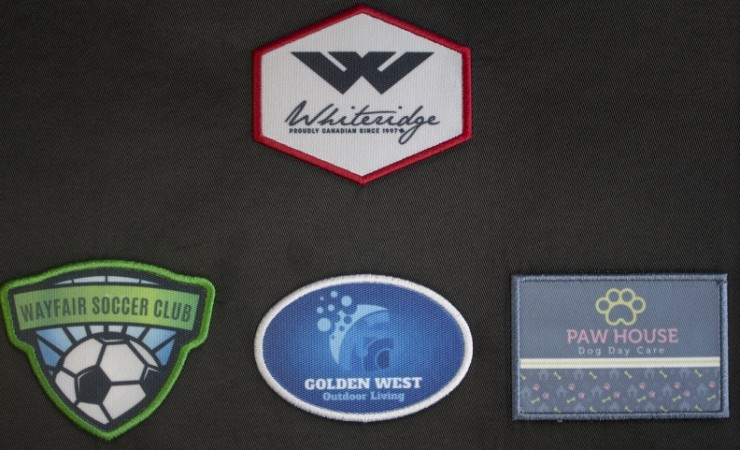 Sublimated Patches