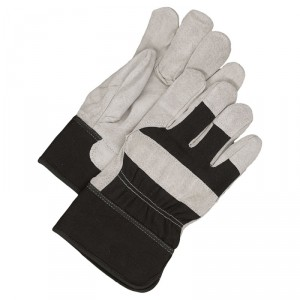 Fitter Glove Brushed Pigskin Black - Unlined
