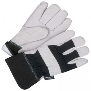 Fitter Glove Brushed Pigskin Black - Lined