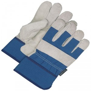 Fitter Glove Brushed Pigskin Navy - Lined