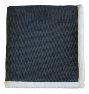 Herringbone Sherpa Throw (60x70)