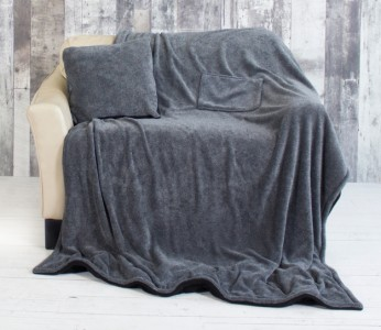 MiCasa TV Blanket & Pillow (50x70)