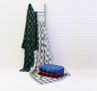Huntly Plaid Throw (60x70)