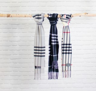 Town Plaid Scarf