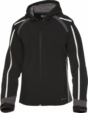 Fury Sport Soft Shell Hoodie (Ladies)