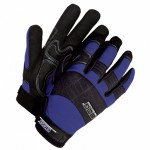 Mechanics Glove Synthetic Leather Anti-Vib Gel Palm